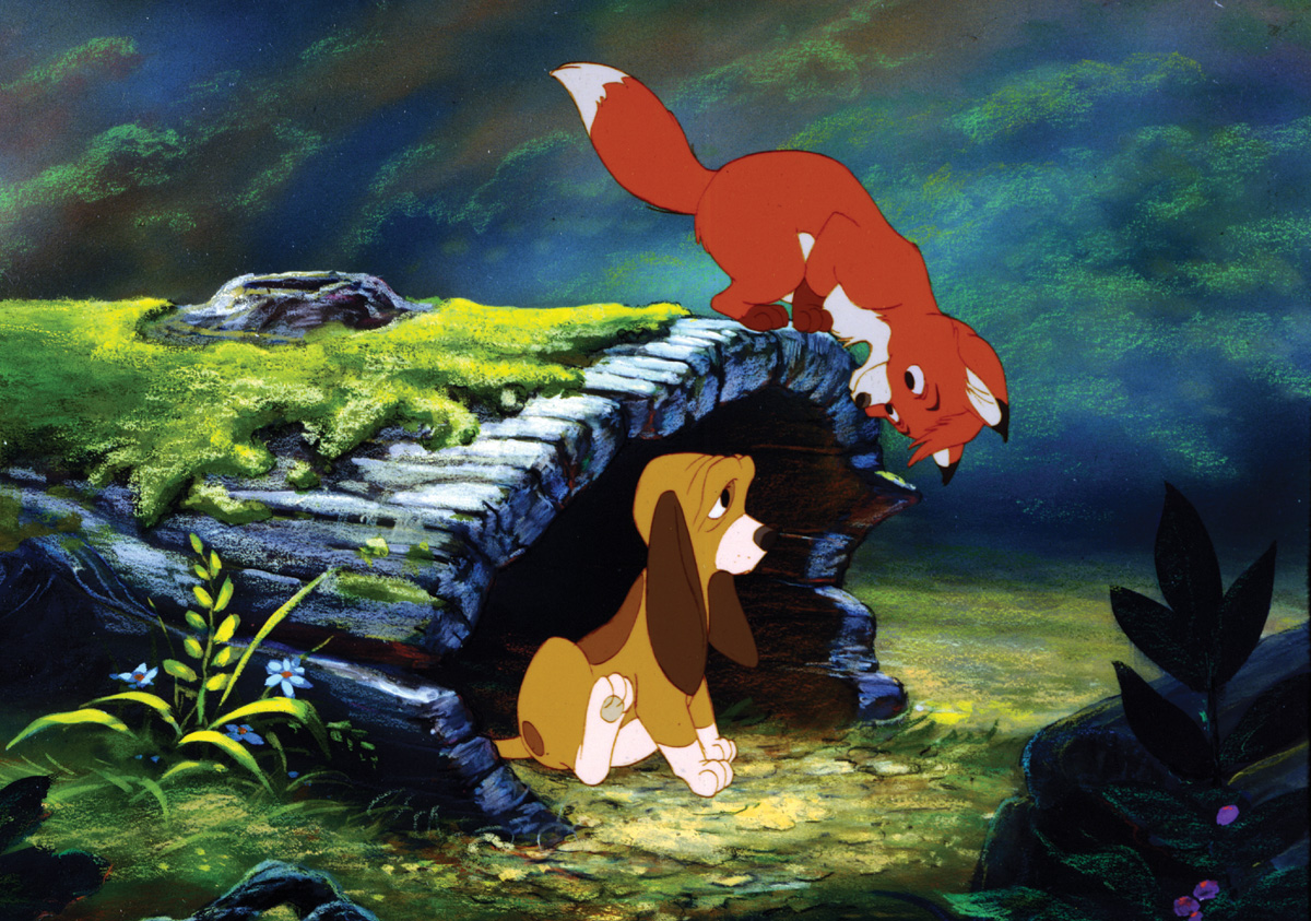 """5 unanswered questions everyone who loves Disney's """"The Fox and the Hound""""  still has   HelloGiggles"""
