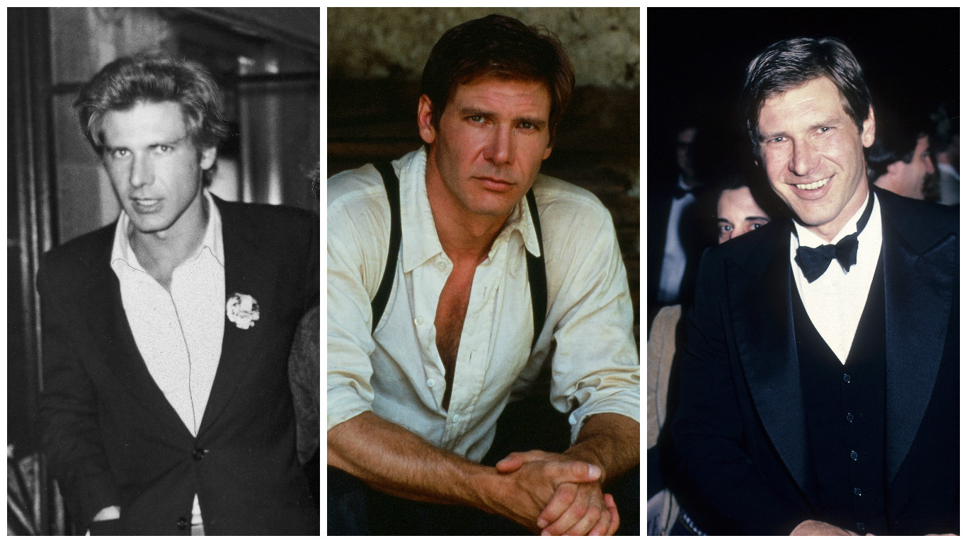 Just A Bunch Of Throwback Pictures Of Harrison Ford Looking Ridiculously Handsome At Every Age Hellogiggles