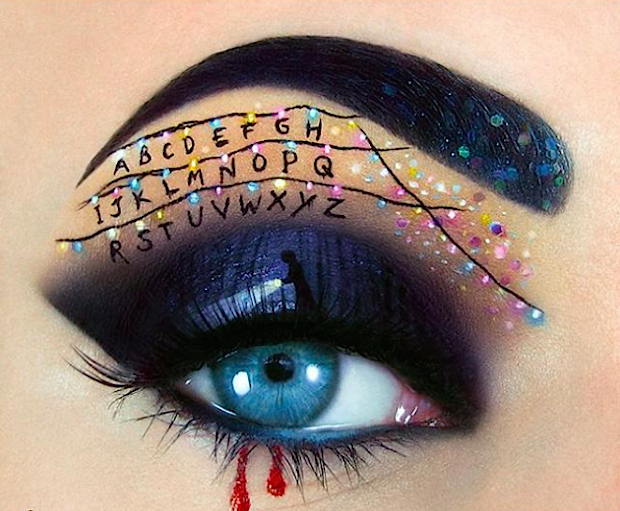 Halloween Inspired Eye Makeup.From Stranger Things To Spider Legs 13 Halloween Inspired Eye Makeup To Get You Looking Spooky And Beautiful Hellogiggles