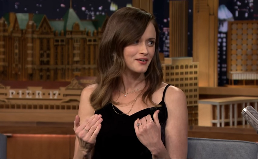 Alexis bledel opinion on sex scenes