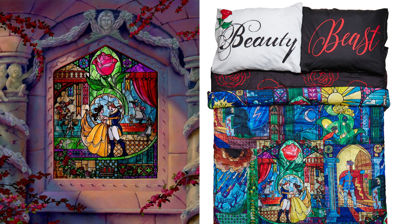 This Beauty And The Beast Comforter Is Most Enchanting Way To Fall Asleep Hellogiggles