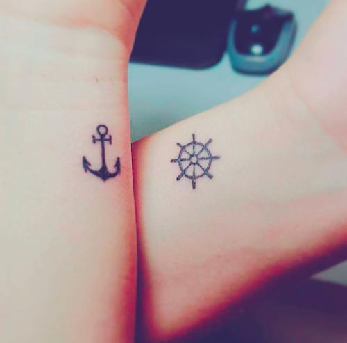 Tatoos partner Ephemeral Tattoo
