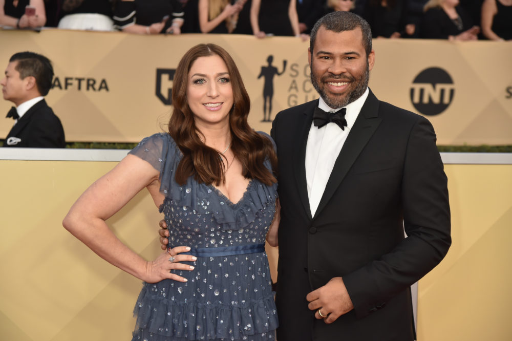 Relive Chelsea Peretti And Jordan Peele S Cutest Moments Together Hellogiggles