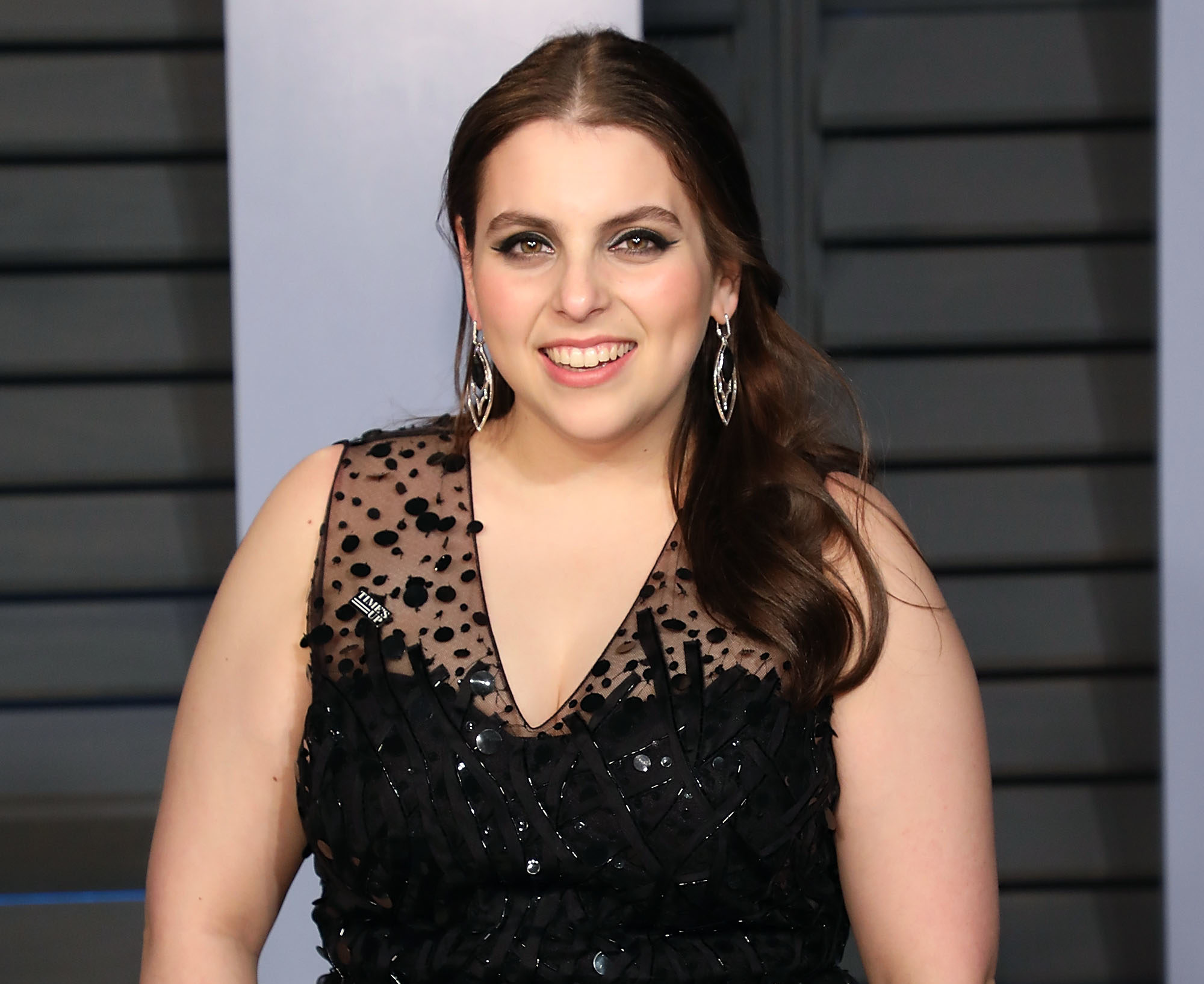 Beanie Feldstein Went Completely Makeup
