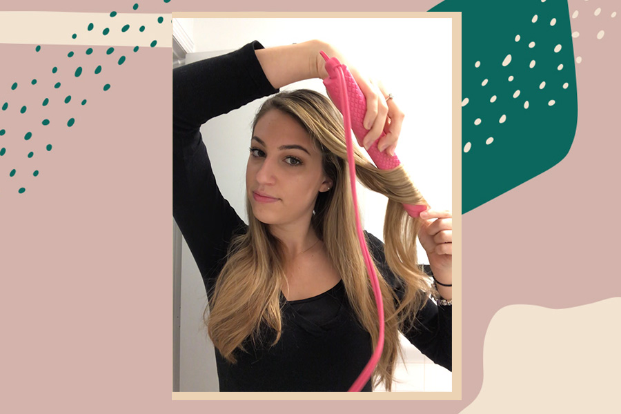 How To Curl Hair With A Flat Iron Step By Step Guide For Flat Iron Curls Hellogiggles