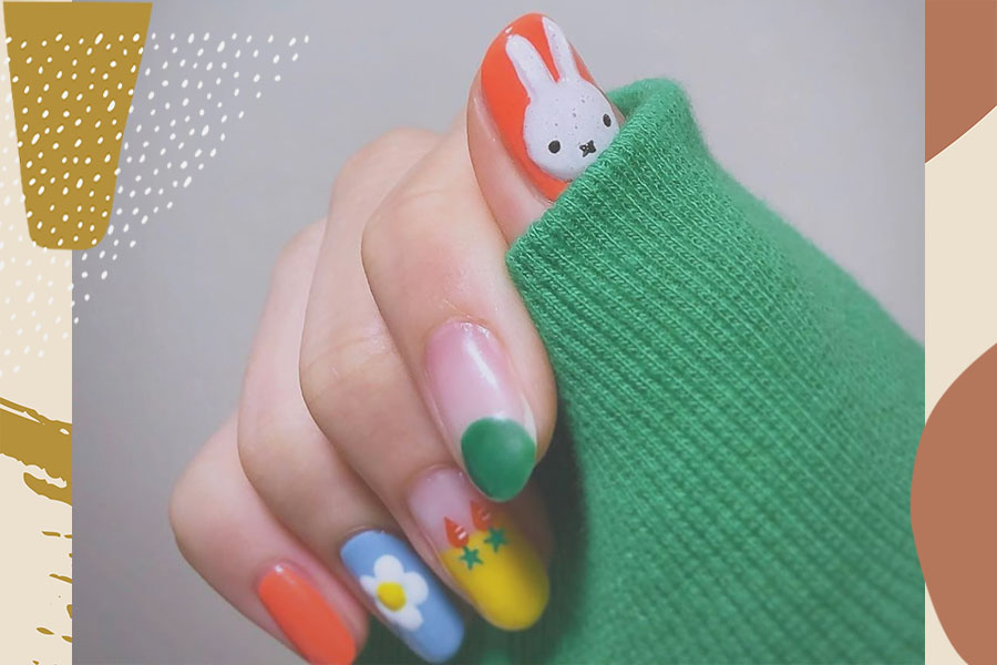 10 Easter Nail Art Ideas You Can Easily Recreate At Home Hellogiggles
