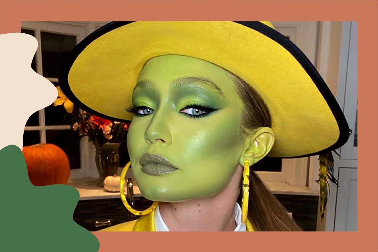 Easy Halloween Makeup 10: 10 Last-Minute Makeup Looks  HelloGiggles