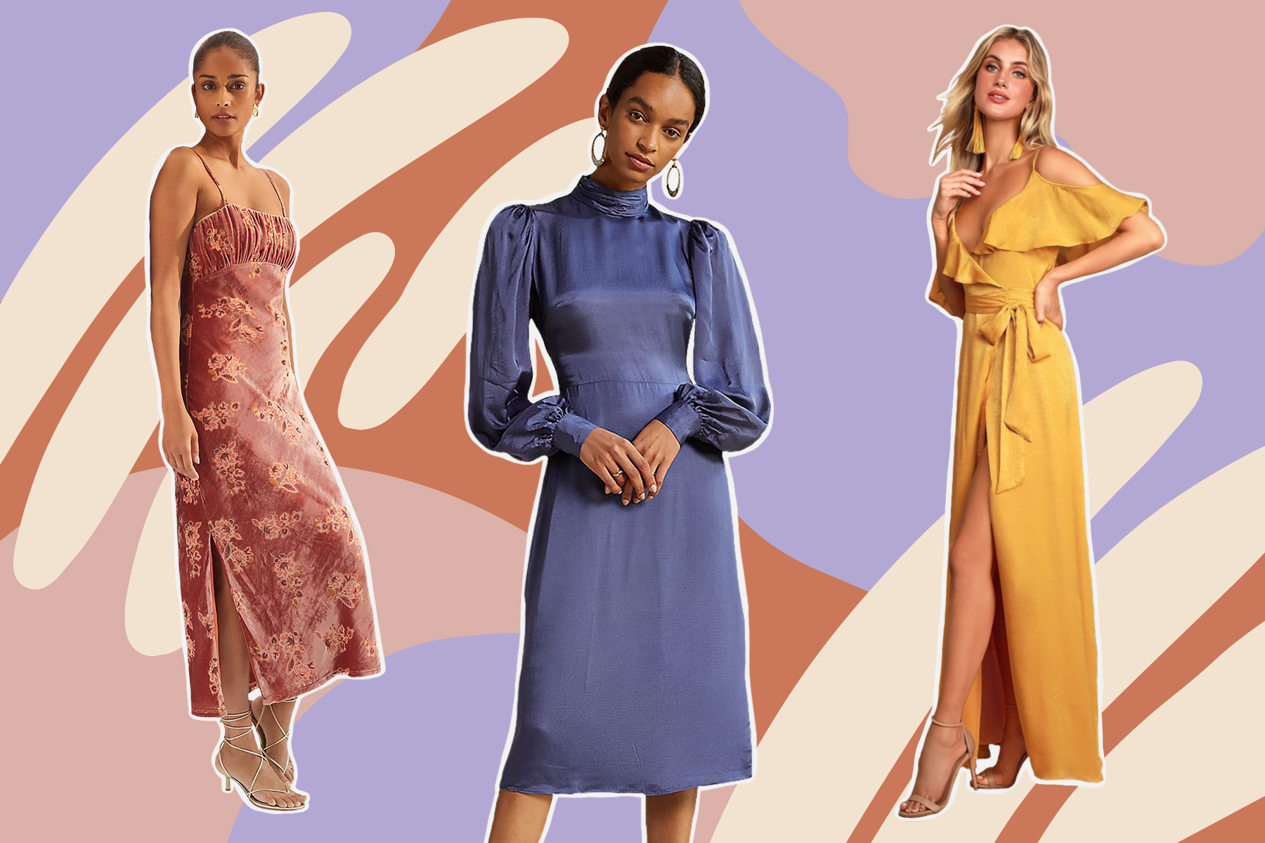 The 20 Best Fall Wedding Guest Dresses for 20   HelloGiggles