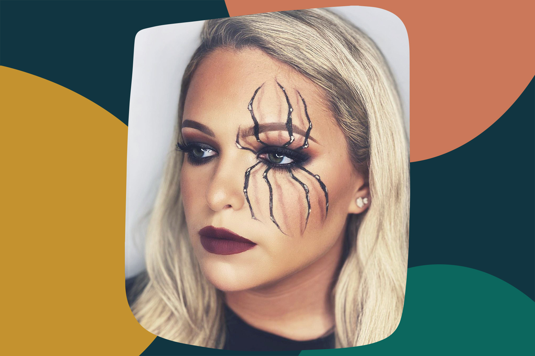 11 pretty Halloween eye makeup ideas to try | HelloGiggles