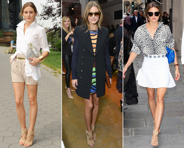 Olivia Palermo Recycles and Restyles