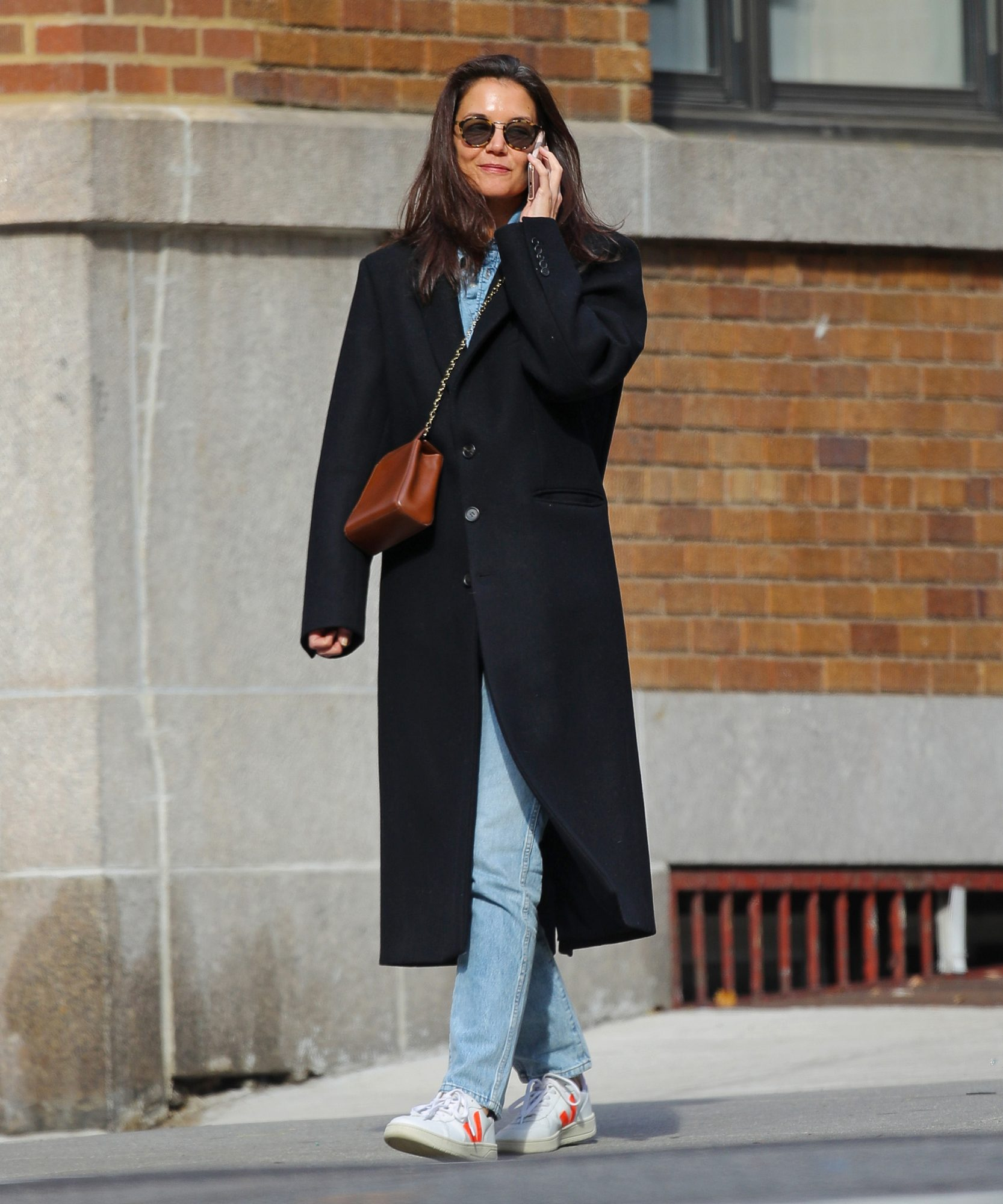 Katie Holmes's Affordable Sneakers Are