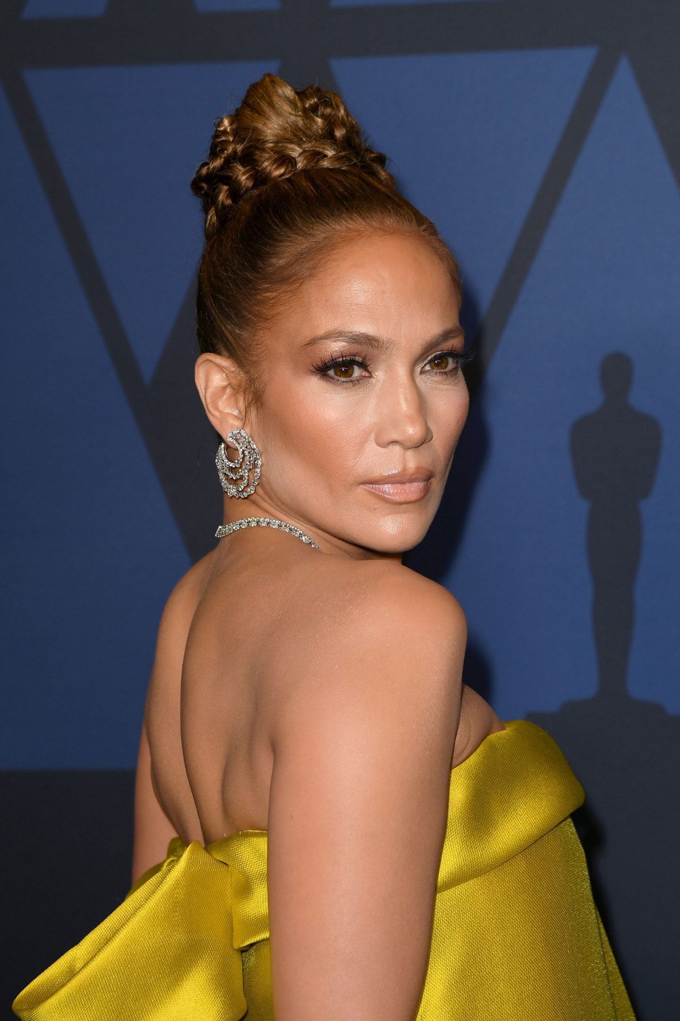 Jennifer Lopez Has Curly Lob On Gq Cover Instyle