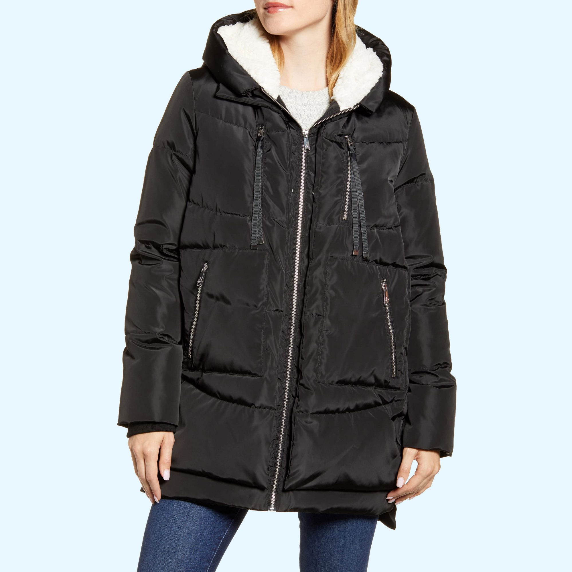 Sam Edelman Rsquo S Puffer Looks Like Amazon Rsquo S Viral Orolay Coat Instyle