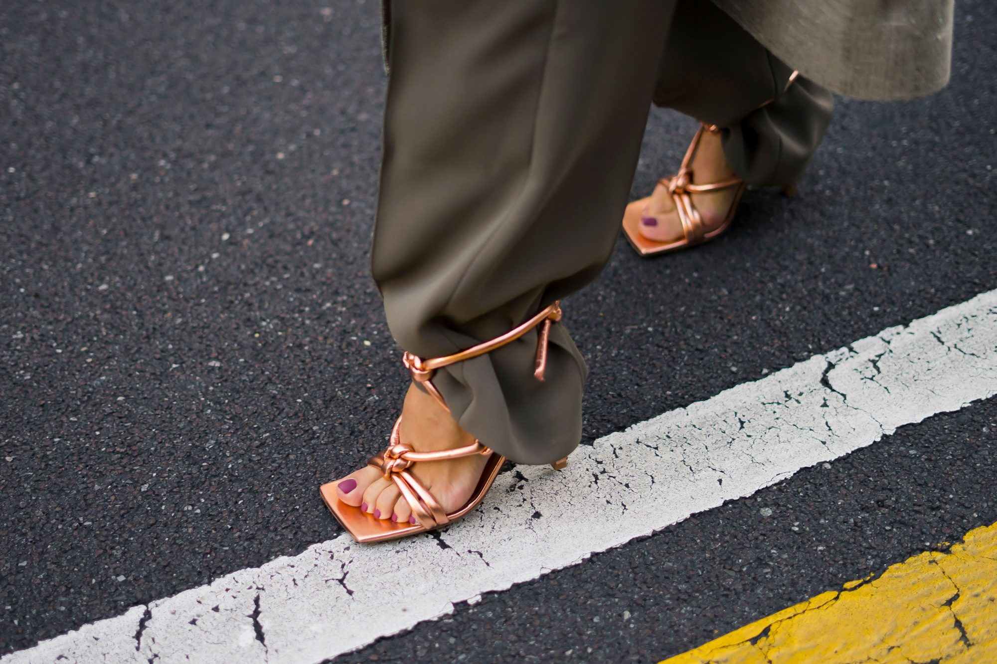 The Square Toe Sandal Trend May Be More