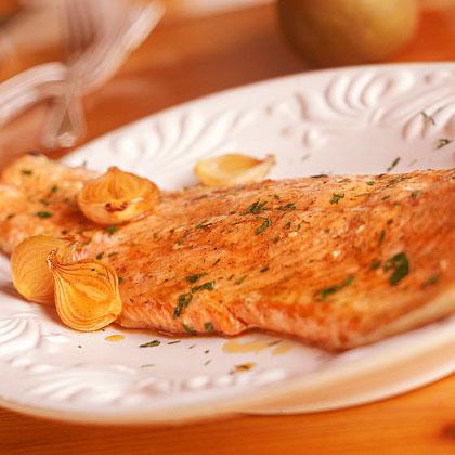 Maple Glazed Roasted Salmon Recipe Myrecipes
