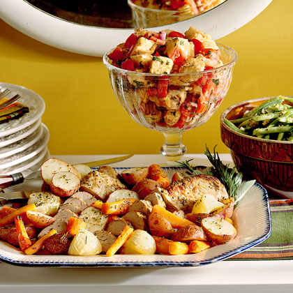 Italian Bread Salad Recipe Myrecipes