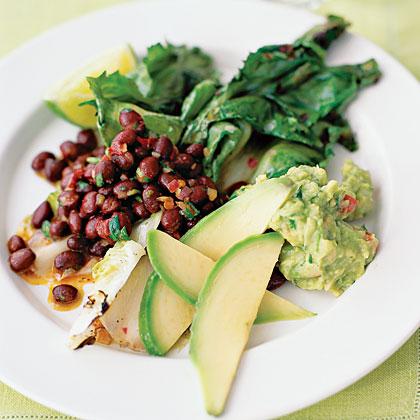 Black Beans And Escarole Salad Recipe Myrecipes