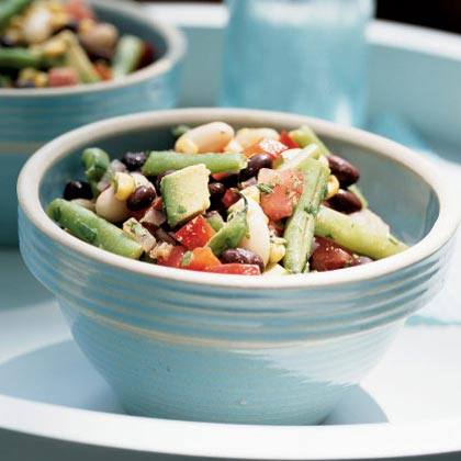 Three Bean Salad Recipe With Corn