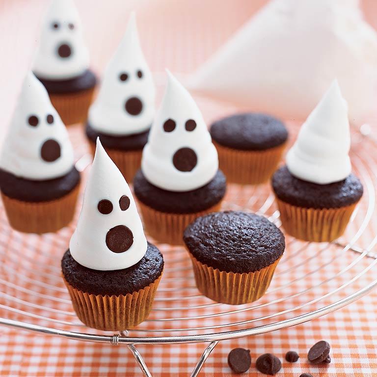 Cute Halloween Mini Cupcakes.22 Halloween Cupcakes Myrecipes