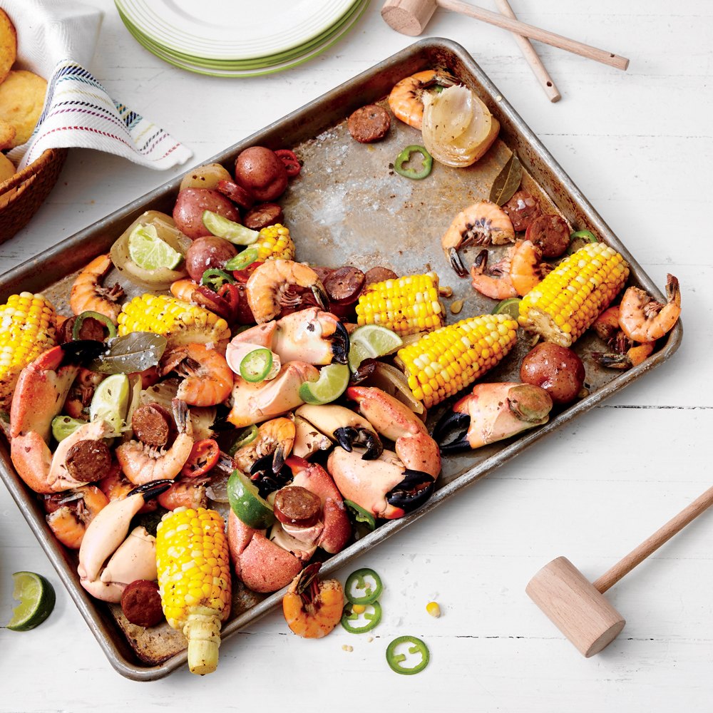 South Of The Border Crab Boil Recipe Myrecipes