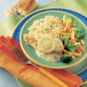 Campbell S Lemon Broccoli Chicken Recipe Myrecipes