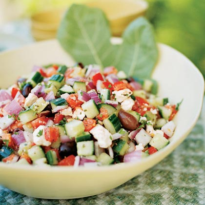 Greek Salad Recipe Parsley
