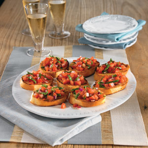 Italian Bread With Tomato Appetizers Recipe Myrecipes
