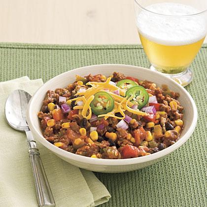 Slow Cooker Turkey Chili Recipe Myrecipes