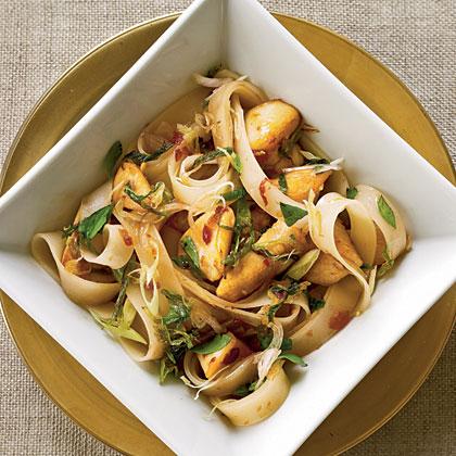 Thai Rice Noodles With Chicken Recipe Myrecipes