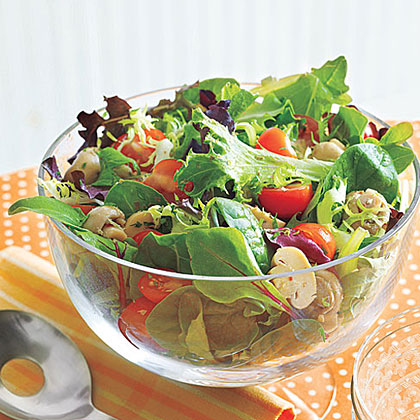 Tossed Salad With Mushrooms Recipe Myrecipes