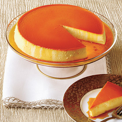 Caramel Cream Cheese Flan Recipe Myrecipes