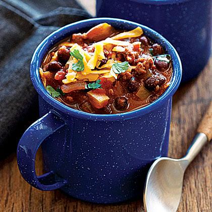 Turkey Black Bean Chili Recipe Myrecipes