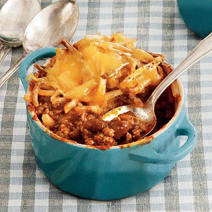 Cheesy Chili Hash Brown Bake Recipe Myrecipes