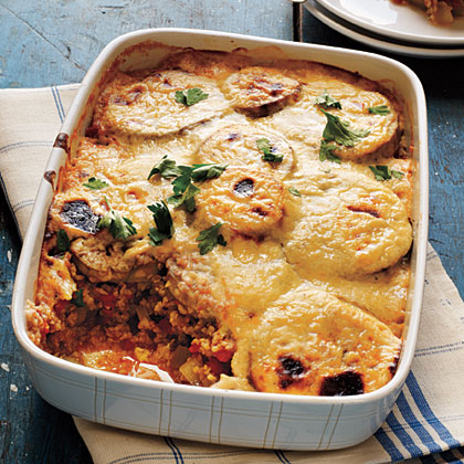 Vegetarian Moussaka Recipe Myrecipes