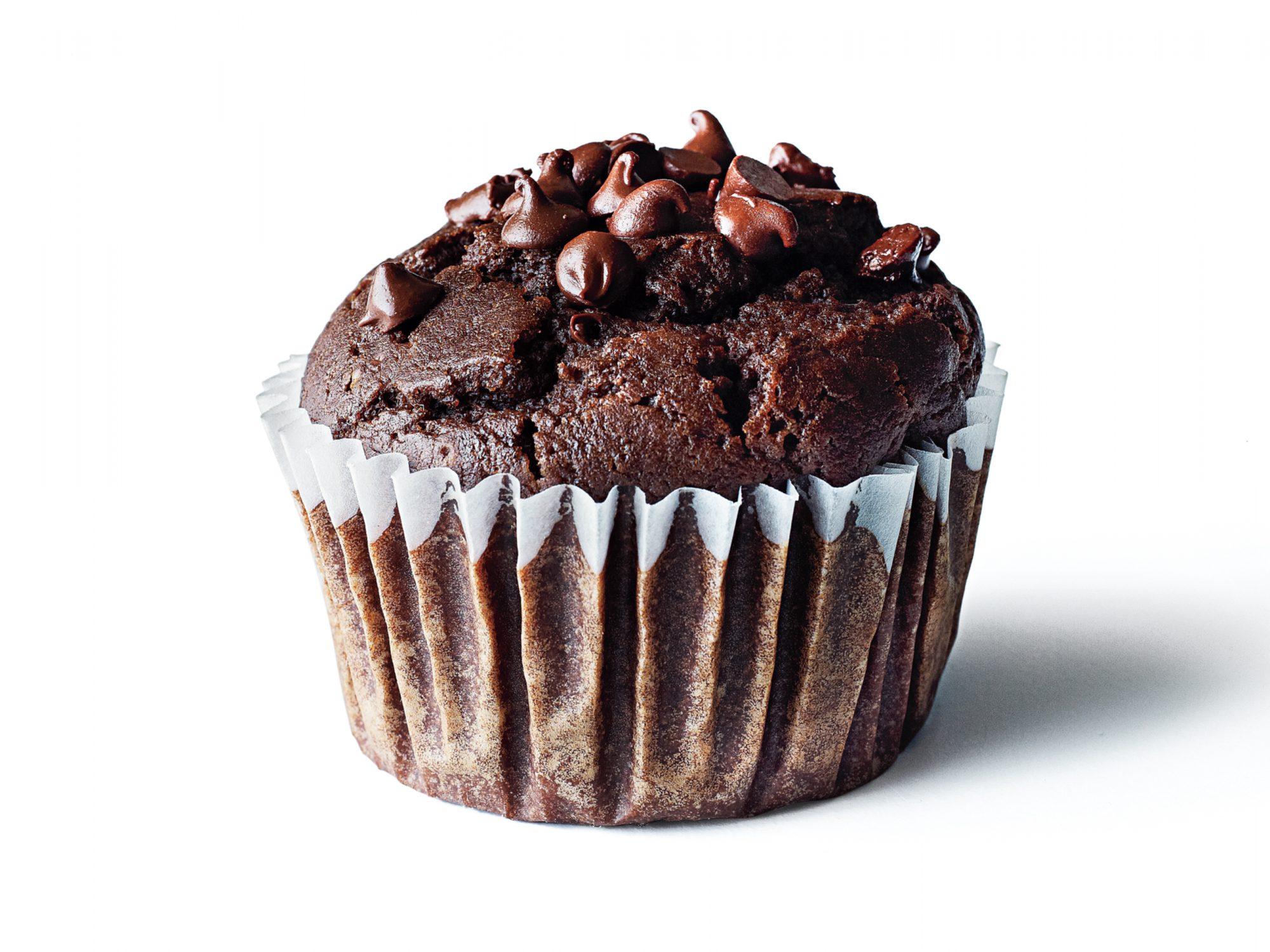 Chocolate Chocolate Chip Muffins Recipe Myrecipes