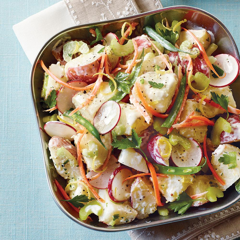 Veggie Potato Salad Recipe Myrecipes