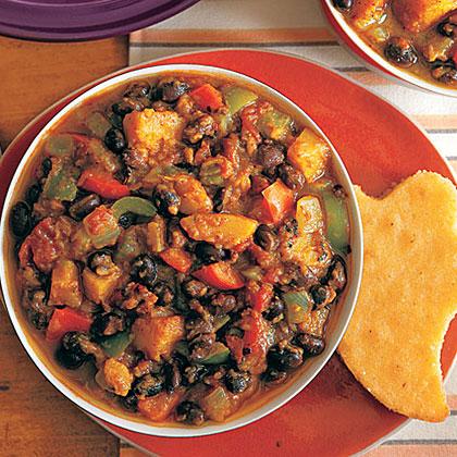 Black Bean And Butternut Squash Chili Recipe Myrecipes