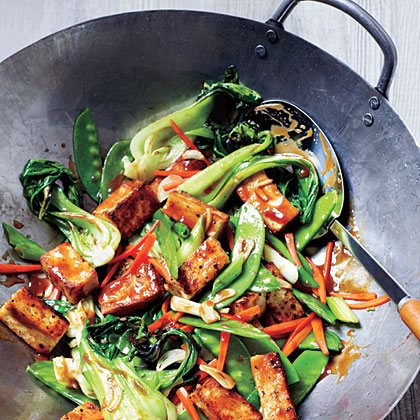 Veggie And Tofu Stir Fry Recipe Myrecipes