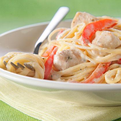 Chicken Alfredo Pesto Pasta Recipe Myrecipes