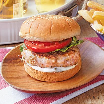 Shrimp Burger Recipe | MyRecipes