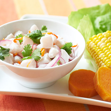 Ceviche Peruano Recipe Myrecipes