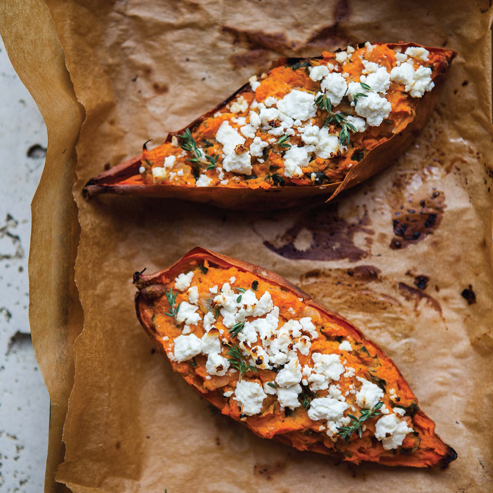 Twice Baked Sweet Potatoes Recipe Myrecipes