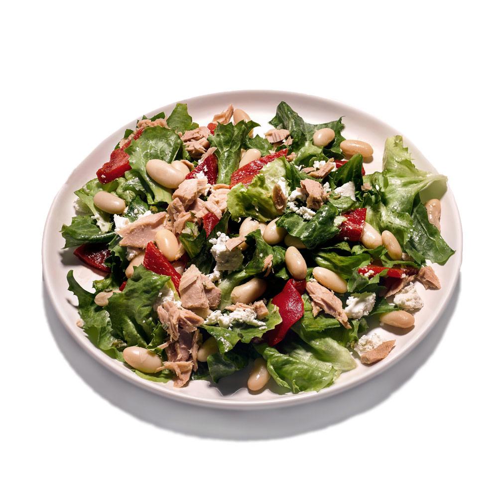 Tuna Bean And Escarole Salad Recipe Myrecipes