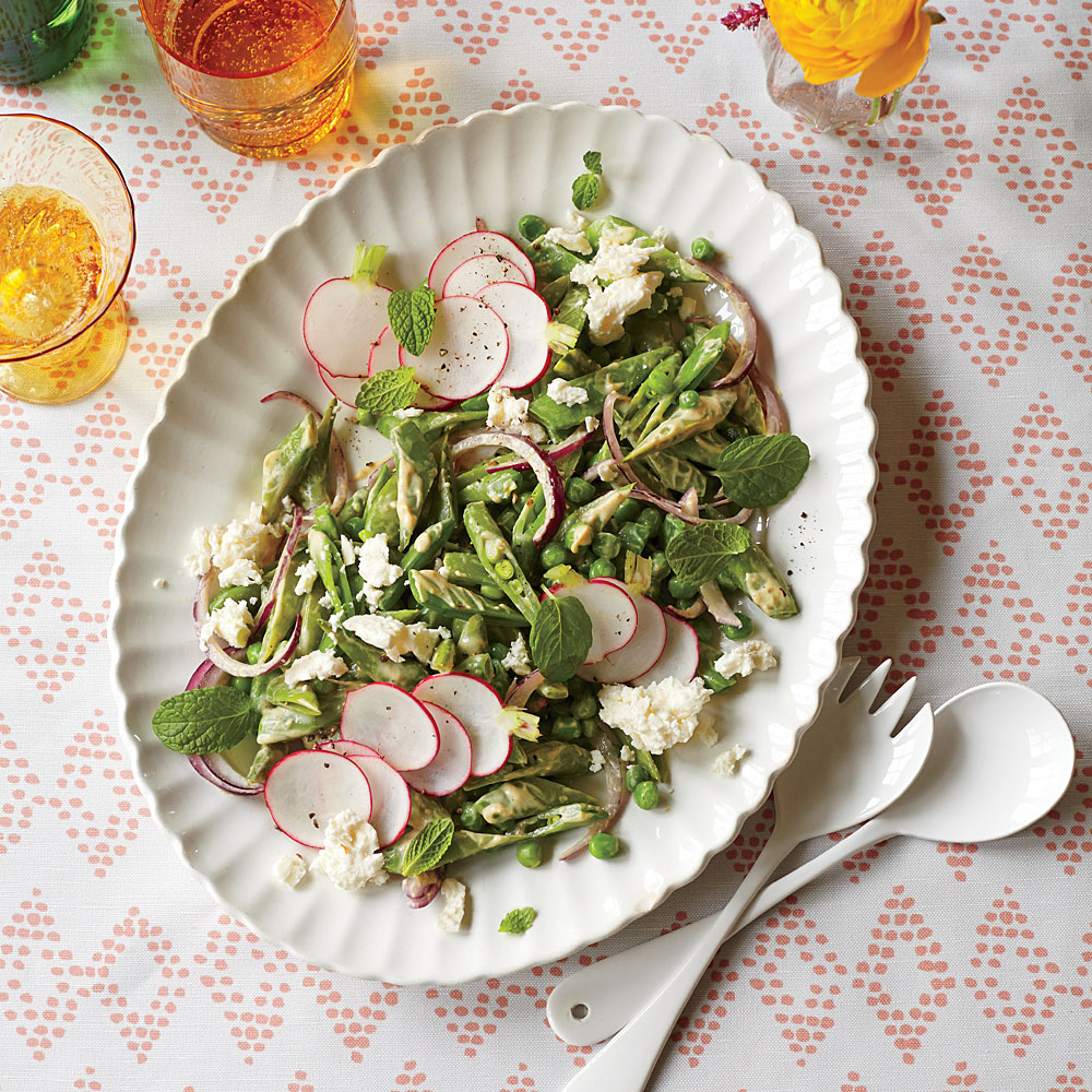 German Pea Salad Recipe