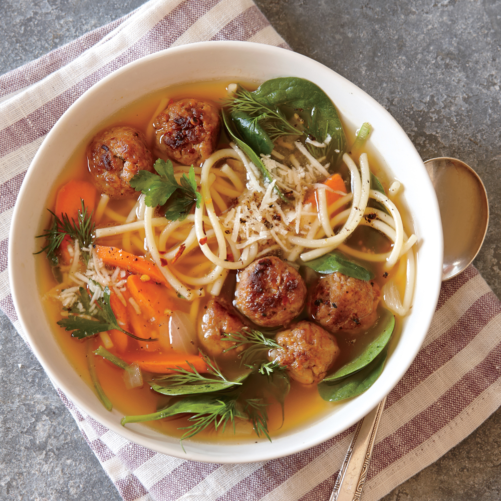 Italian Wedding Soup Recipe Myrecipes