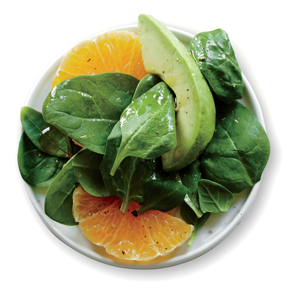 Spinach Salad With Avocado And Orange Recipe Myrecipes