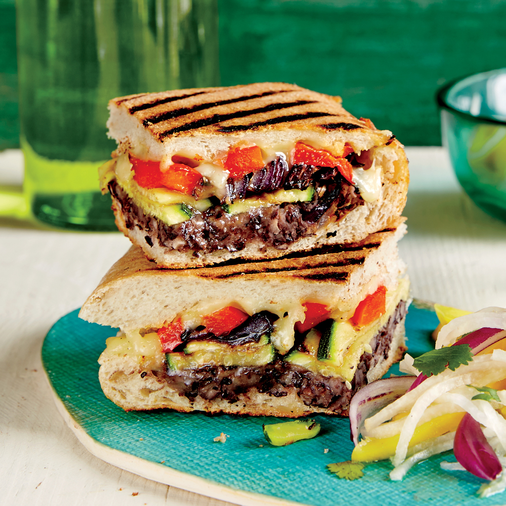 Mexican Style Grilled Vegetable Sandwich Recipe Myrecipes