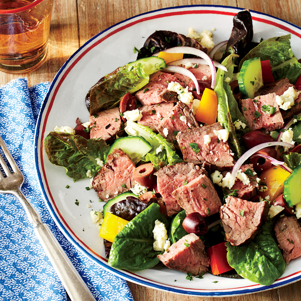 chopped steak salad recipe Chopped Salad with Steak