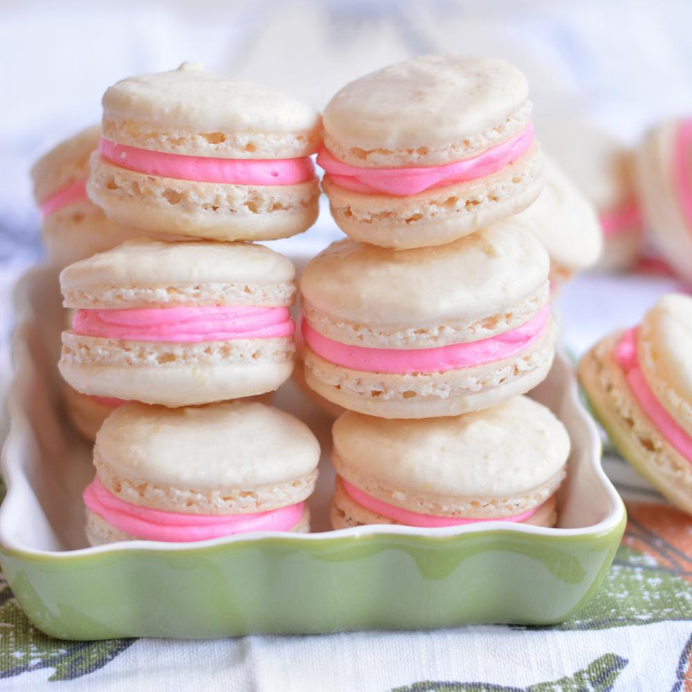 Basic Vanilla Macarons Recipe Myrecipes