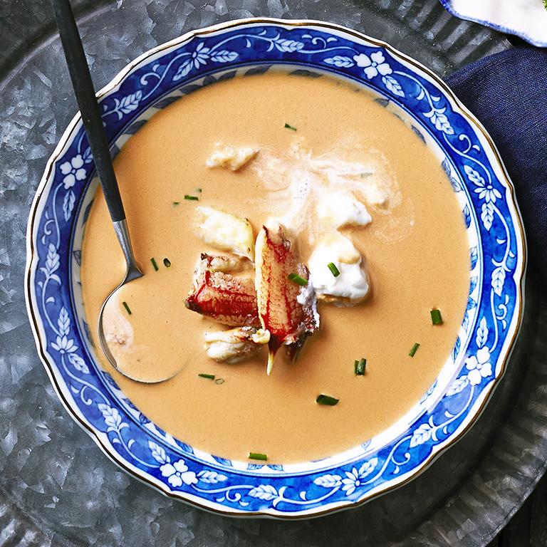 Crab Bisque Recipe Myrecipes